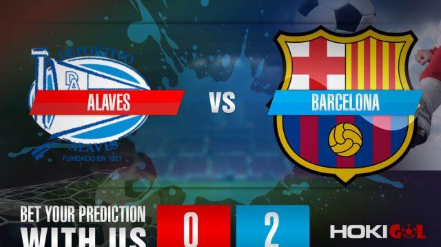 Prediksi Bola Alaves Vs Barcelona 1 November 2020