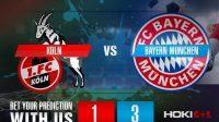 Prediksi Bola Koln Vs Bayern Munchen 31 Oktober 2020