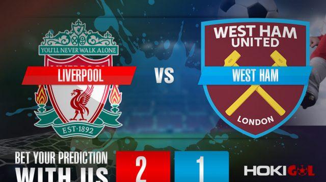 Prediksi Bola Liverpool Vs West Ham 1 November 2020
