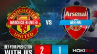 Prediksi Bola Manchester United Vs Arsenal 1 November 2020
