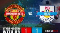 Prediksi Bola Manchester United Vs Leipzig 29 Oktober 2020