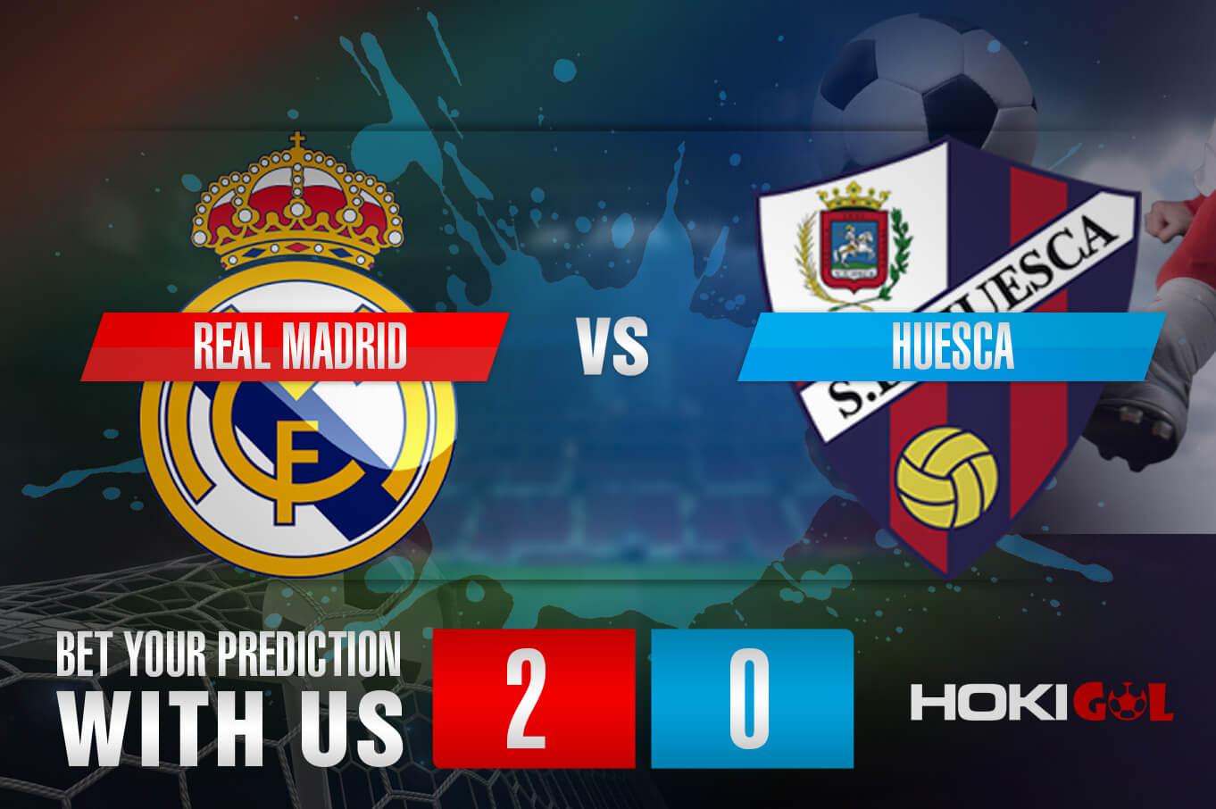 Prediksi Bola Real Madrid Vs Huesca 31 Oktober 2020