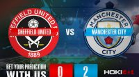Prediksi Bola Sheffield Utd Vs Man City 31 Oktober 2020