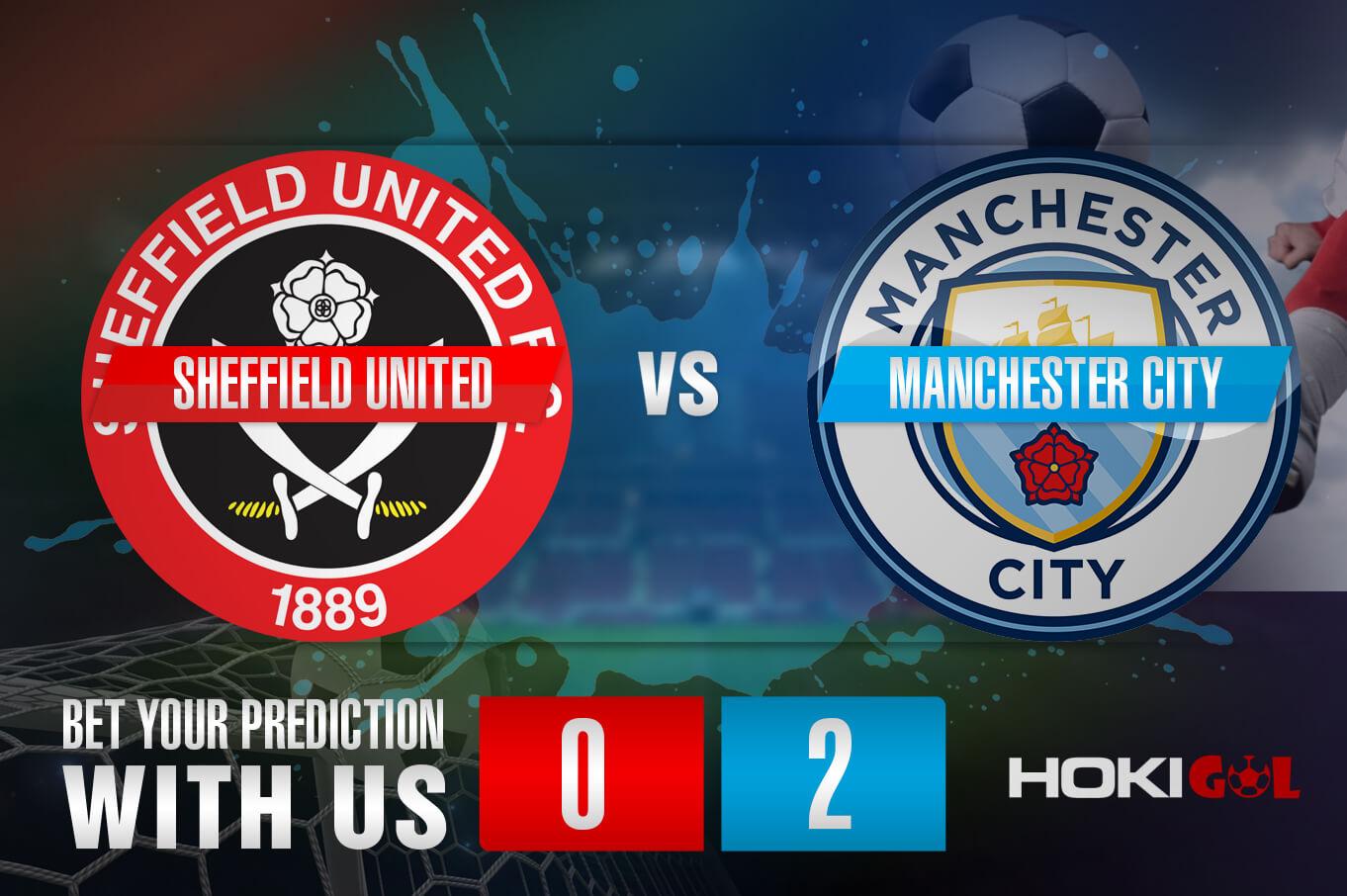 Prediksi Bola Sheffield Utd Vs Man City 31 Oktober 2020