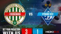 Prediksi Ferencvaros Vs Dynamo Kiev 29 Oktober 2020