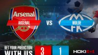 Prediksi Bola Arsenal Vs Molde 6 November 2020