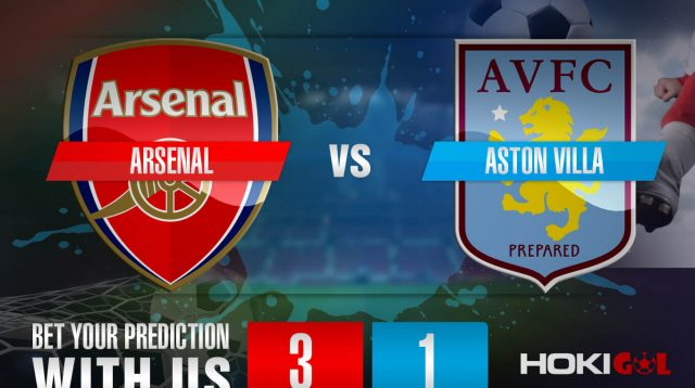 Prediksi Bola Arsenal vs Aston Villa 9 November 2020