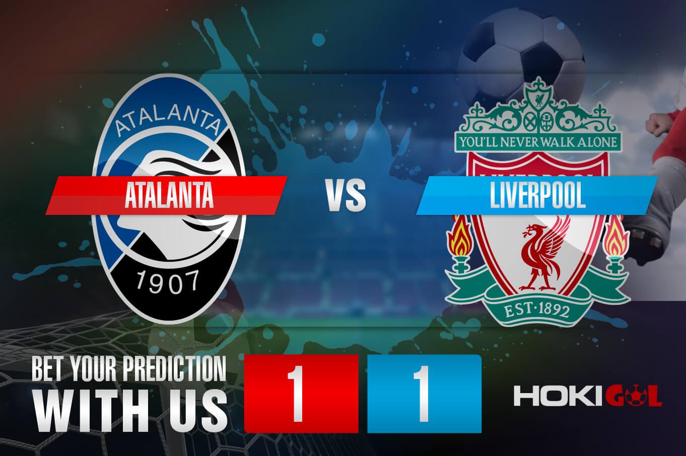 Prediksi Bola Atalanta Vs Liverpool 4 November 2020