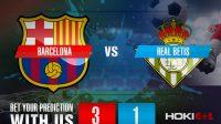 Prediksi Bola Barcelona Vs Real Betis 7 November 2020