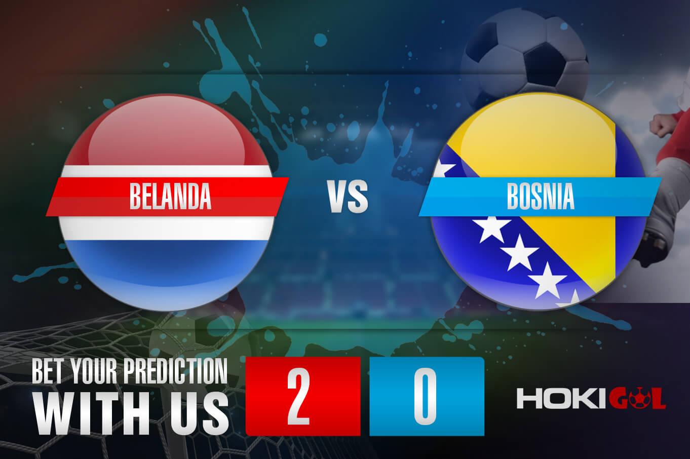 Prediksi Bola Belanda Vs Bosnia 16 November 2020