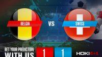 Prediksi Bola Belgia Vs Swiss 12 November 2020
