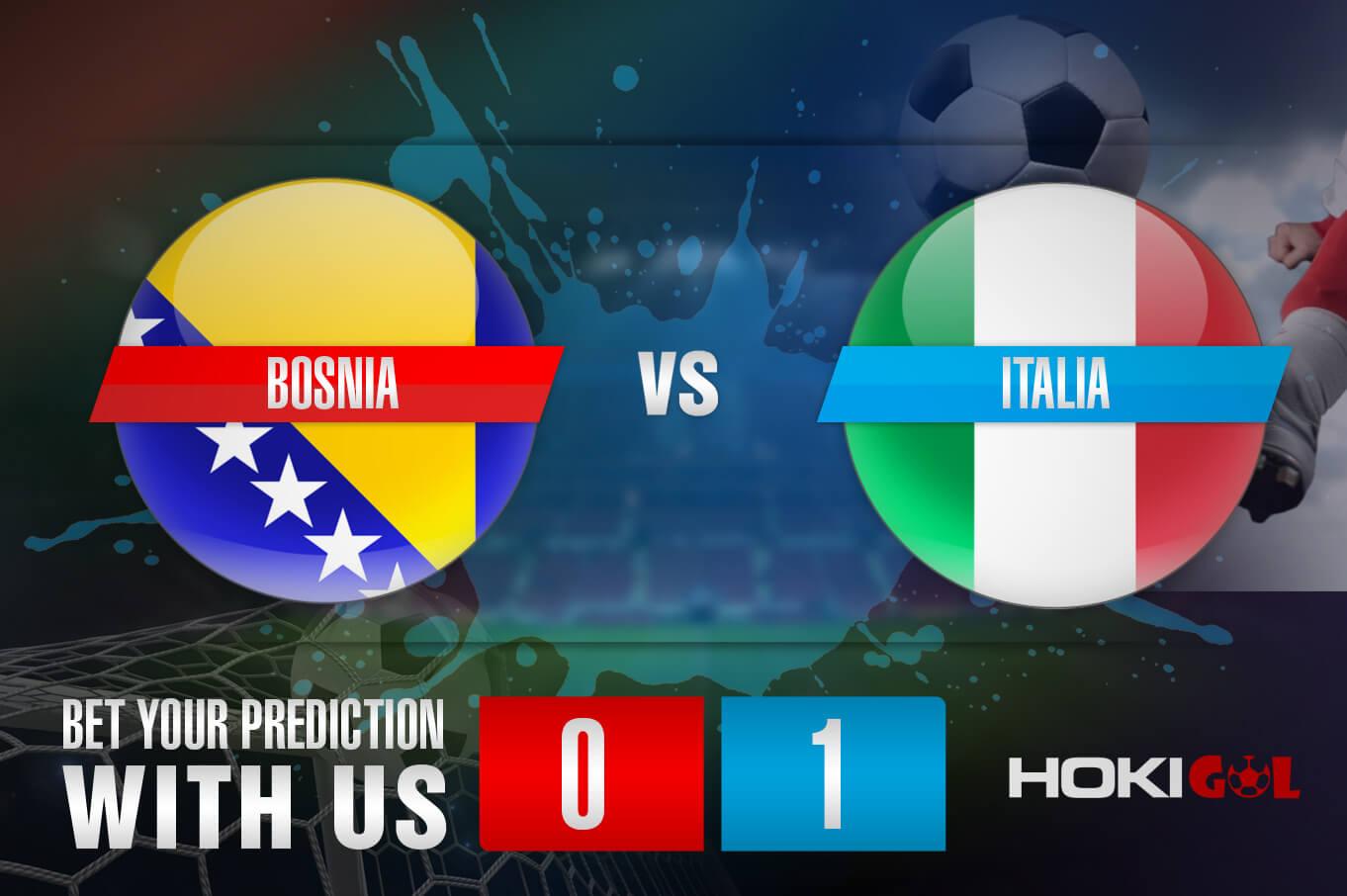 Prediksi Bola Bosnia Vs Italia 19 November 2020