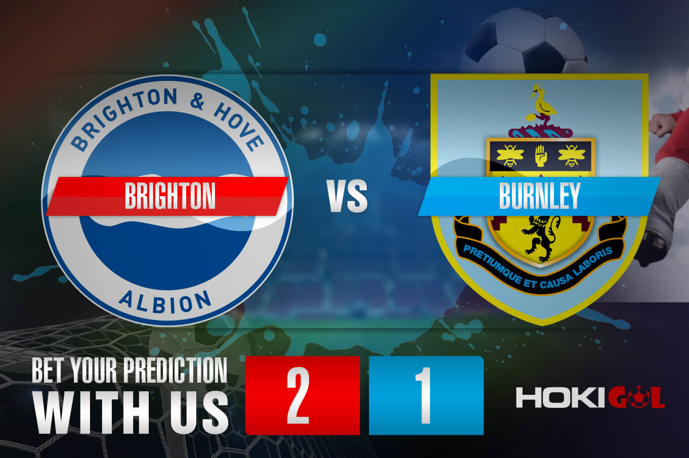 Prediksi Bola Brighton Vs Burnley 7 November 2020
