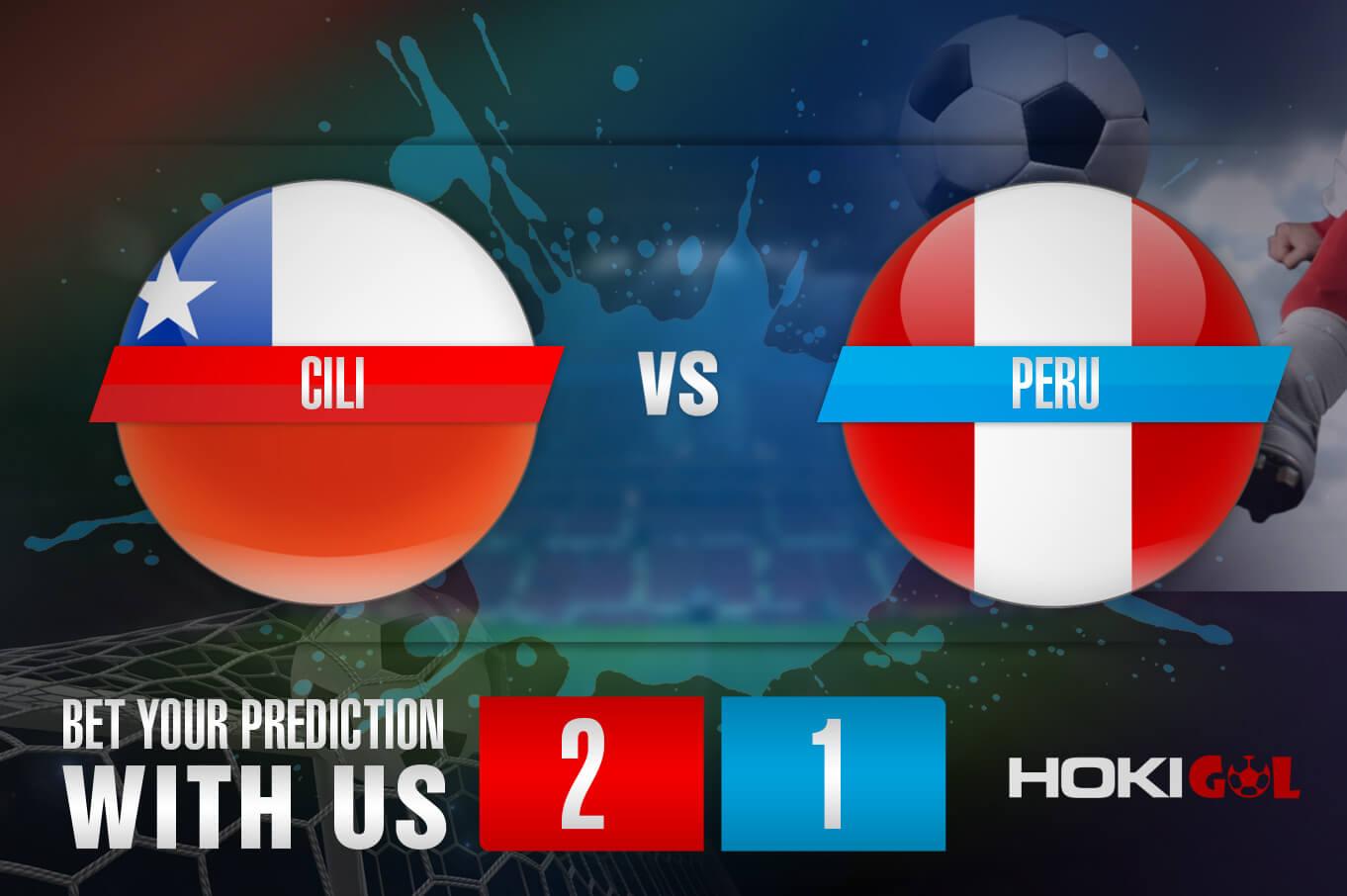 Prediksi Bola Cili Vs Peru 14 November 2020