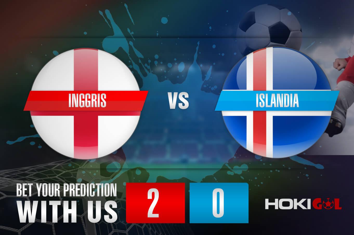 Prediksi Bola Inggris Vs Islandia 19 November 2020