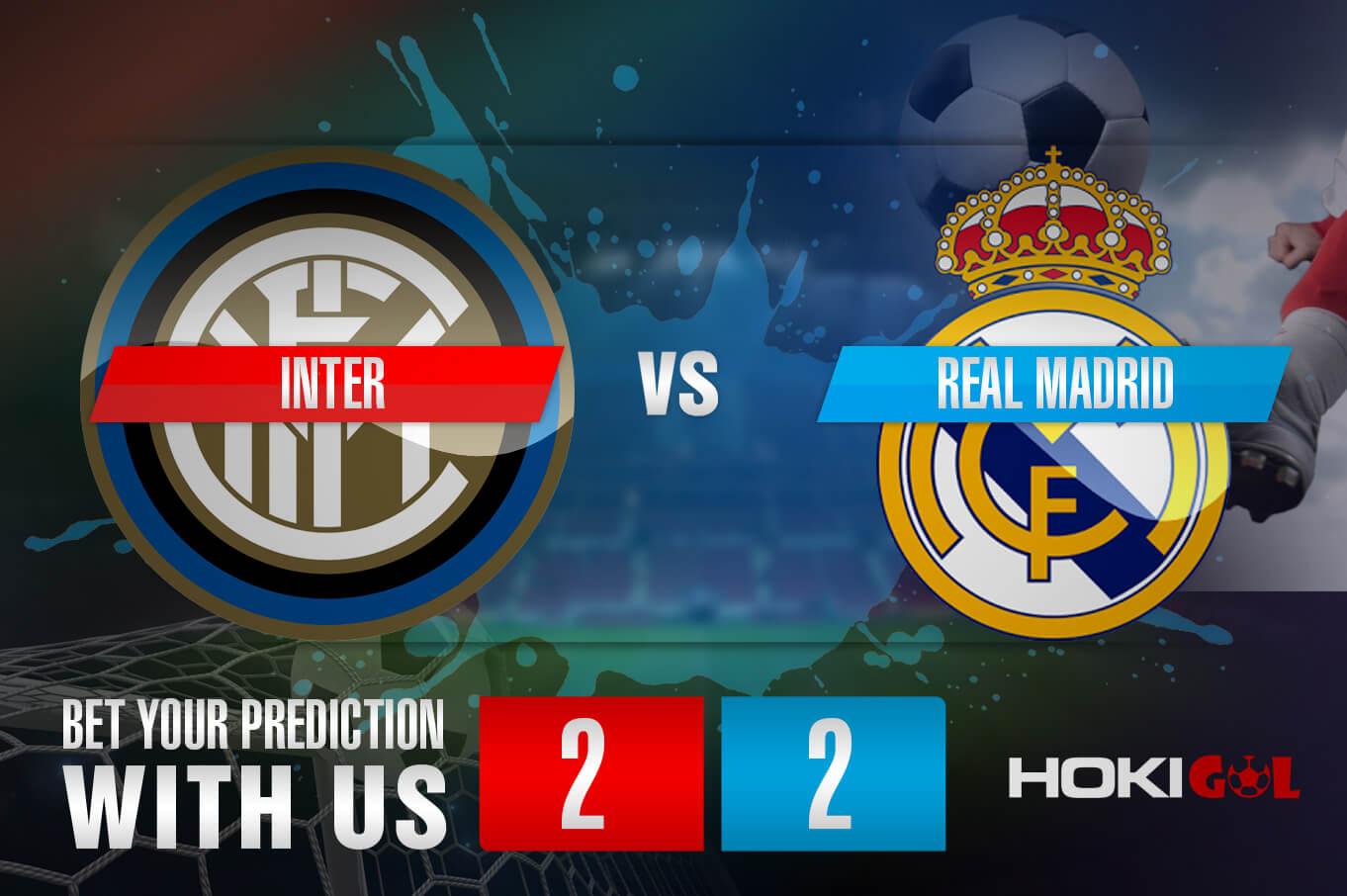 Prediksi Bola Inter Vs Real Madrid 26 November 2020
