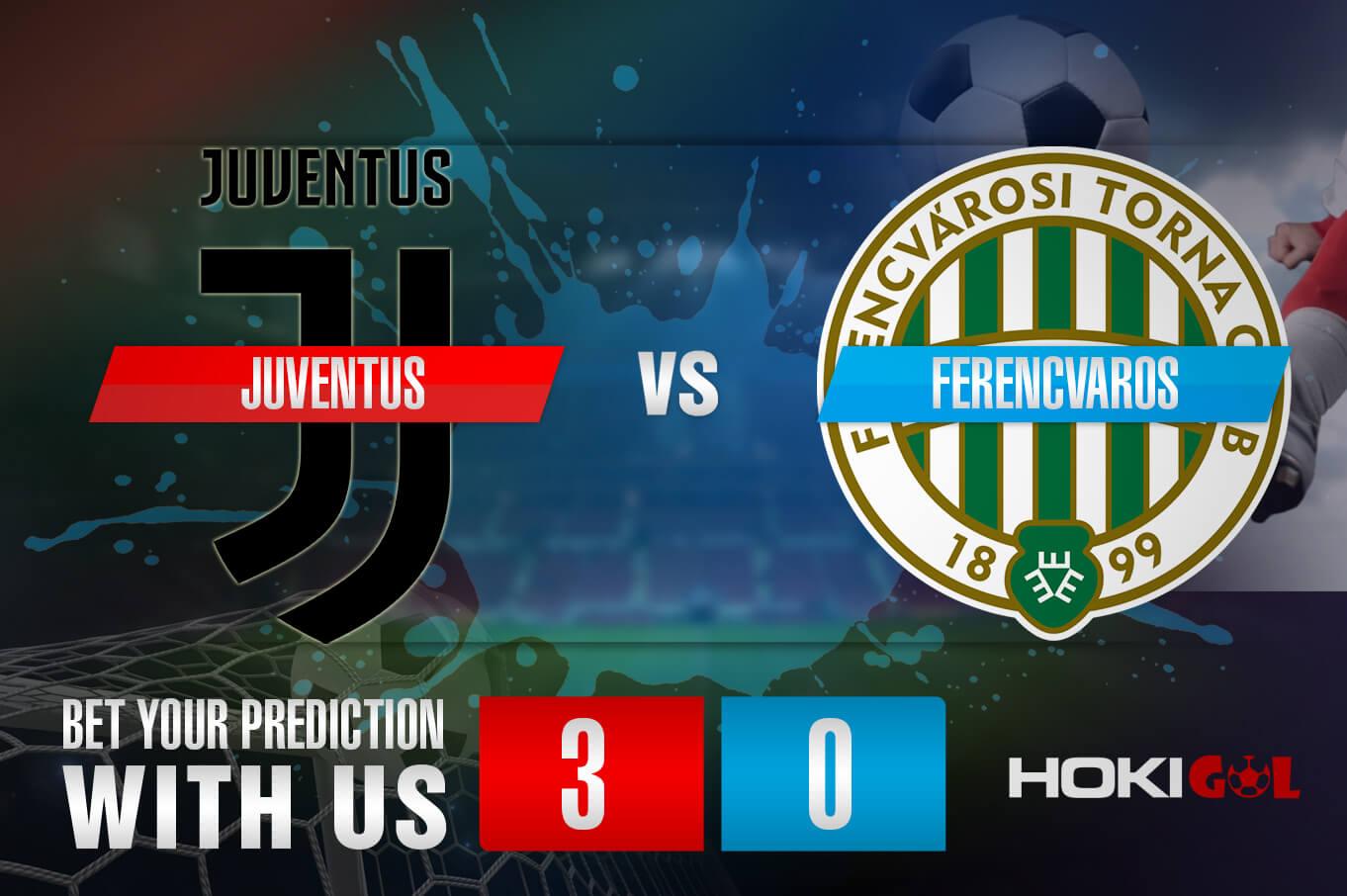 Prediksi Bola Juventus Vs Ferencvaros 25 November 2020