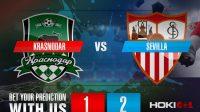 Prediksi Bola Krasnodar Vs Sevilla 25 November 2020