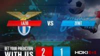 Prediksi Bola Lazio Vs Zenit 25 November 2020