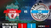 Prediksi Bola Liverpool Vs Ajax 2 Desember 2020