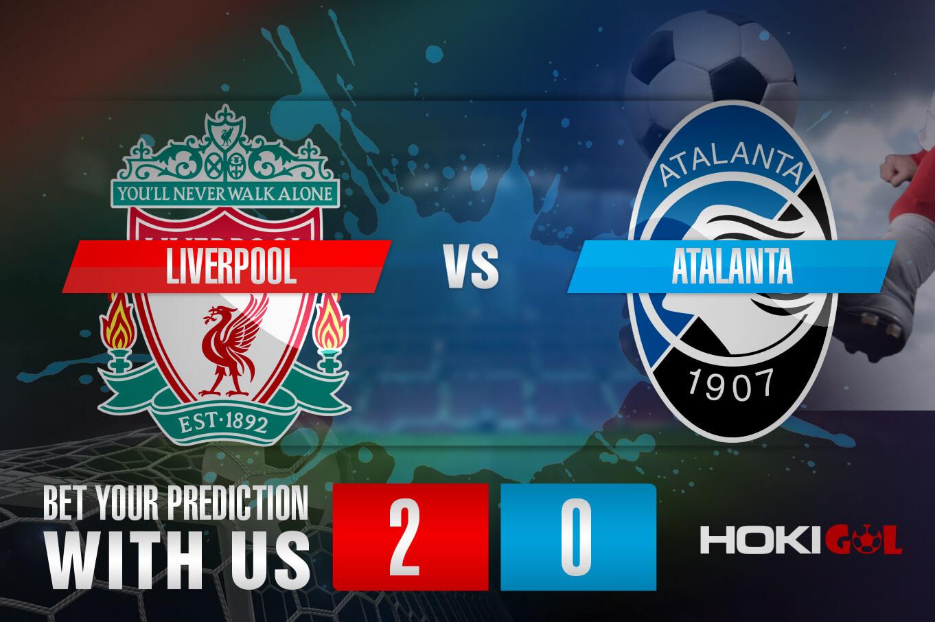 Prediksi Bola Liverpool Vs Atalanta 26 November 2020