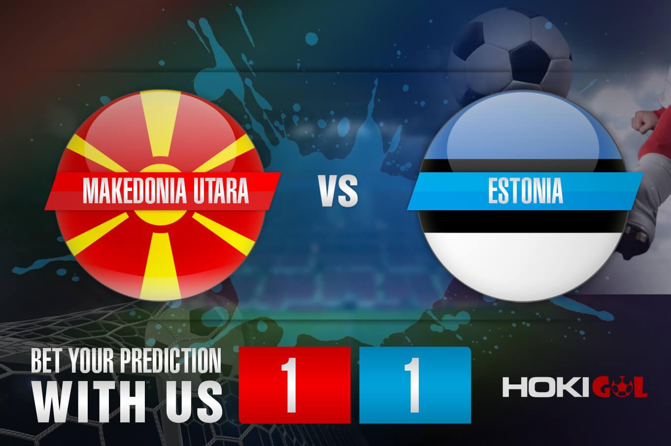 Prediksi Bola Makedonia Utara Vs Estonia 15 November 2020