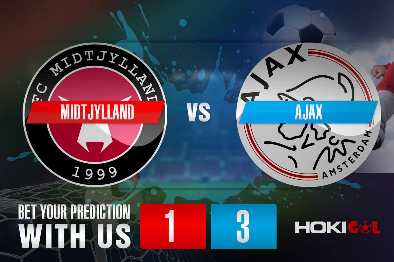 Prediksi Bola Midtjylland Vs Ajax 4 November 2020