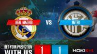 Prediksi Bola Real Madrid Vs Inter 4 November 2020