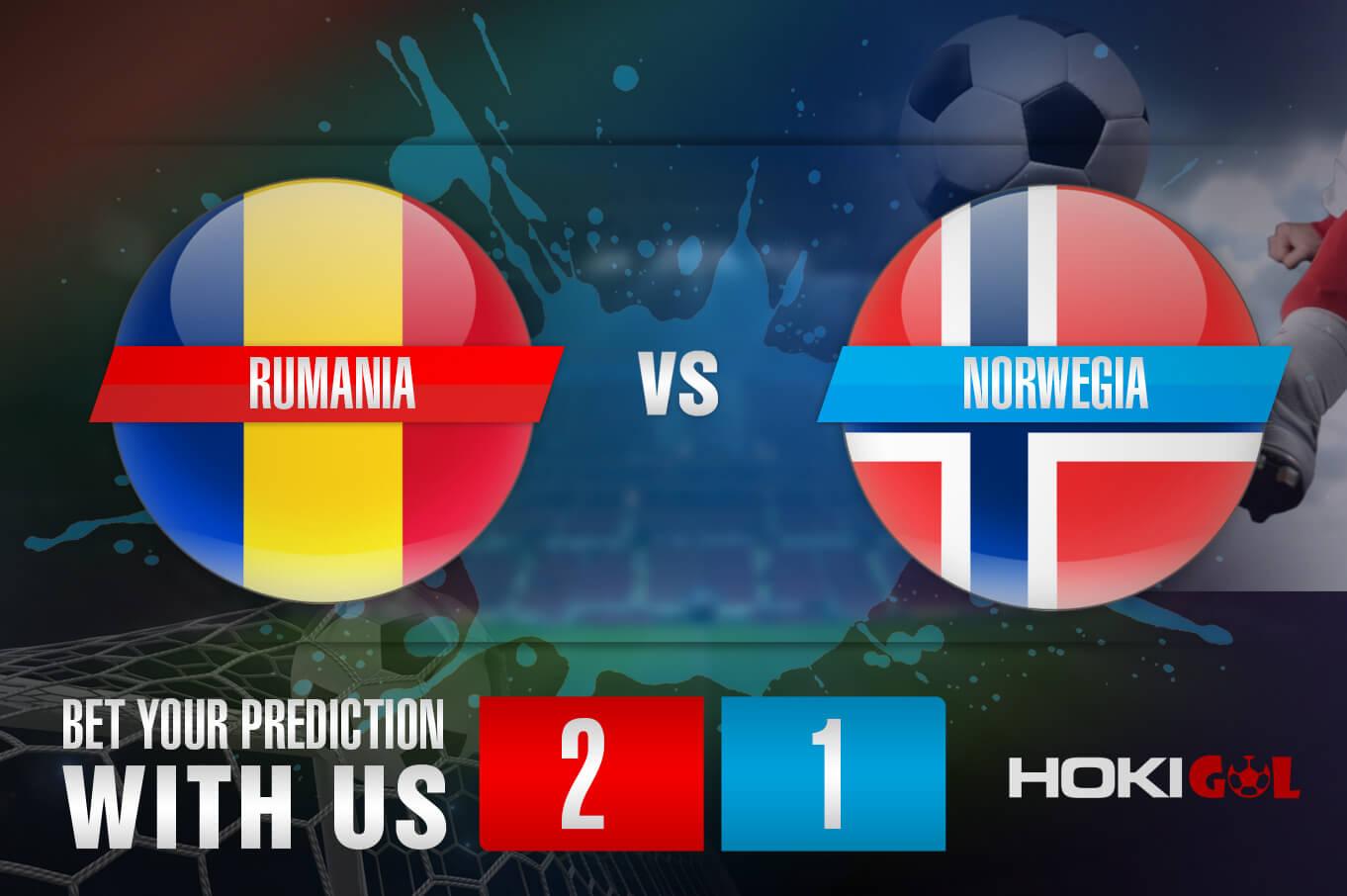 Prediksi Bola Rumania Vs Norwegia 16 November 2020