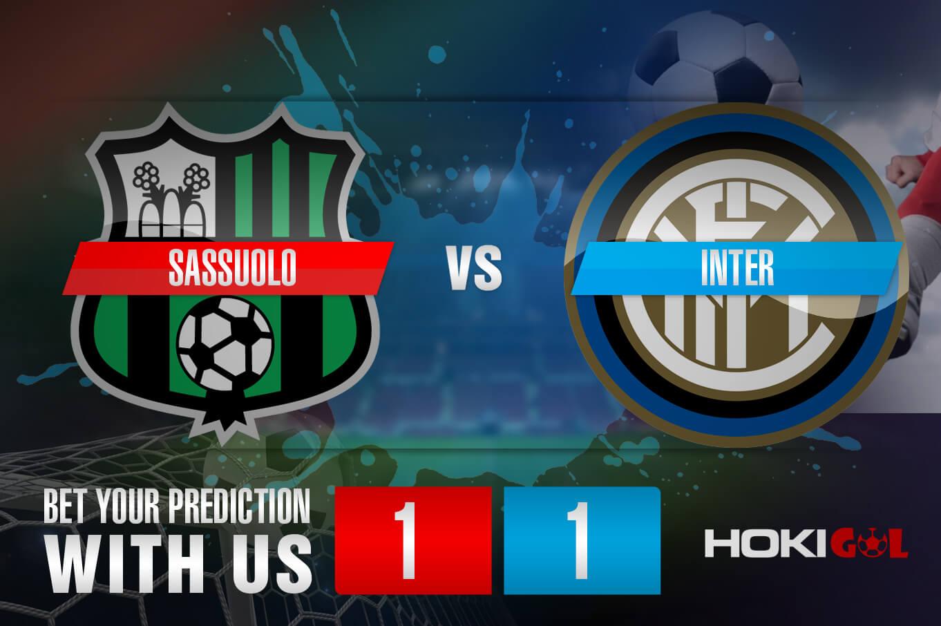 Prediksi Bola Sassuolo Vs Inter 28 November 2020