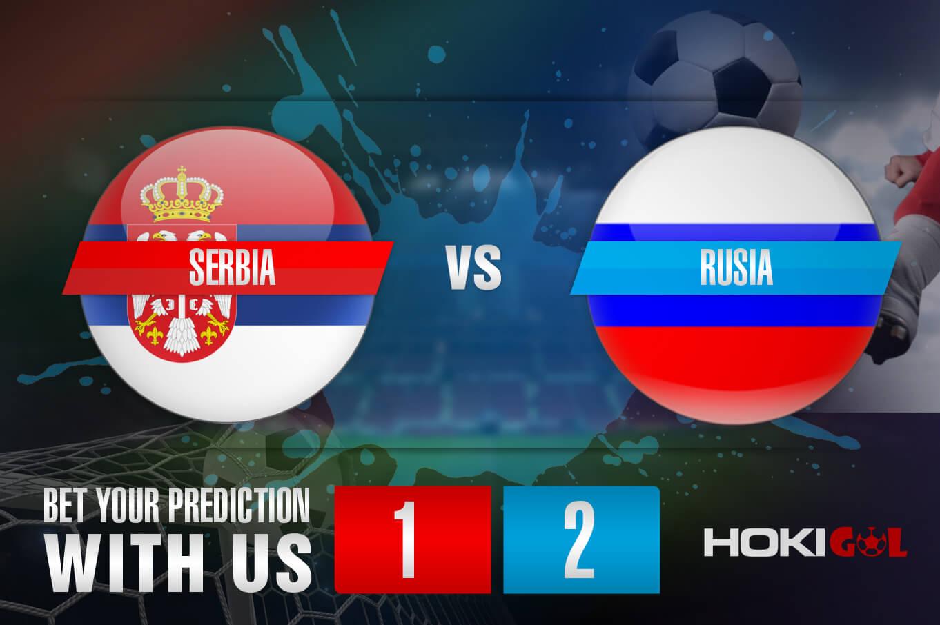 Prediksi Bola Serbia Vs Rusia 19 November 2020