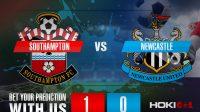 Prediksi Bola Southampton Vs Newcastle 7 November 2020
