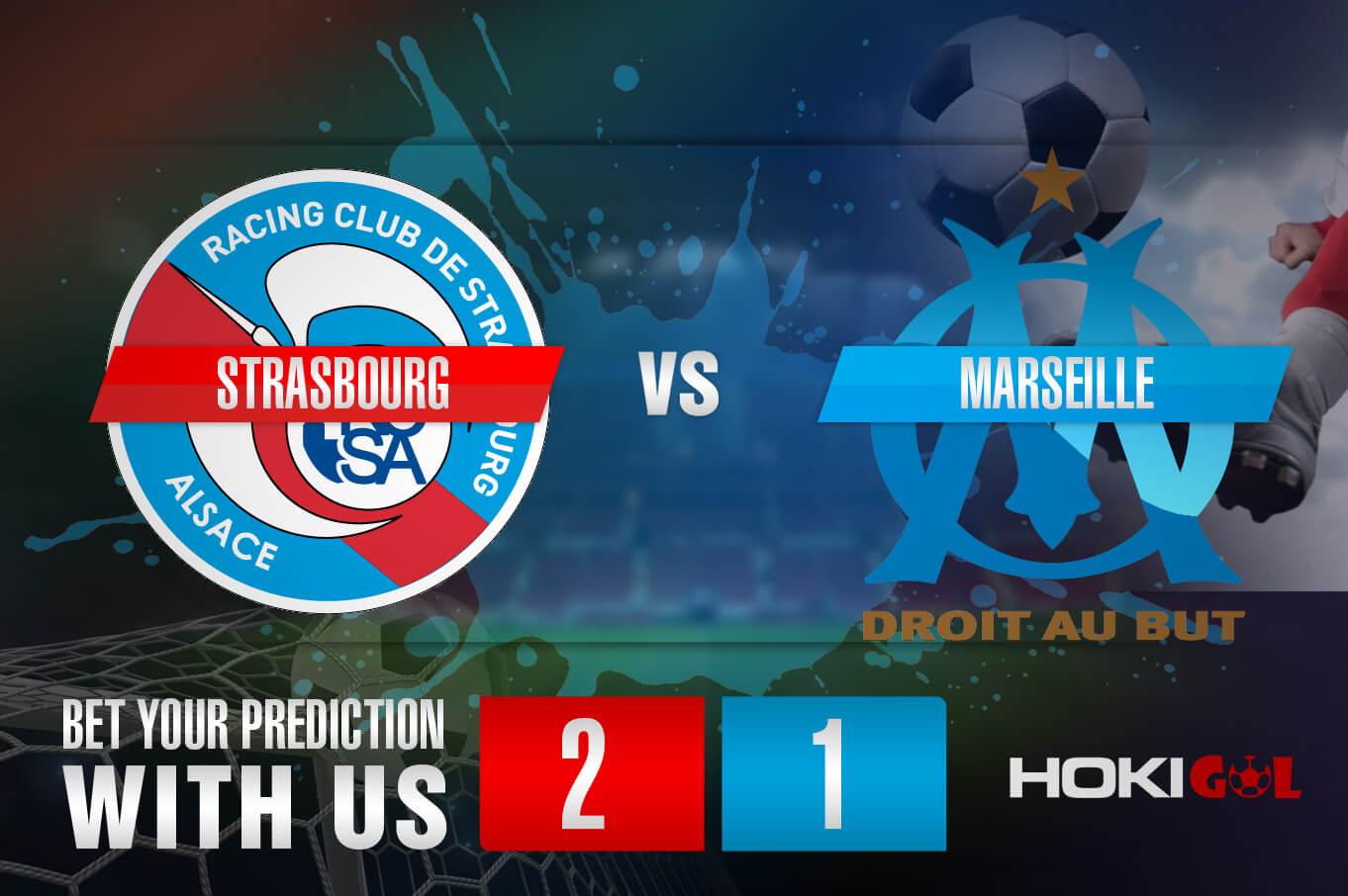 Prediksi Bola Strasbourg Vs Marseille 7 November 2020