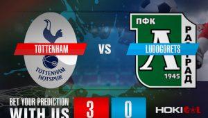 Prediksi Bola Tottenham Vs Ludogorets 27 November 2020
