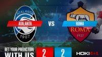 Prediksi Bola Atalanta Vs Roma 21 Desember 2020