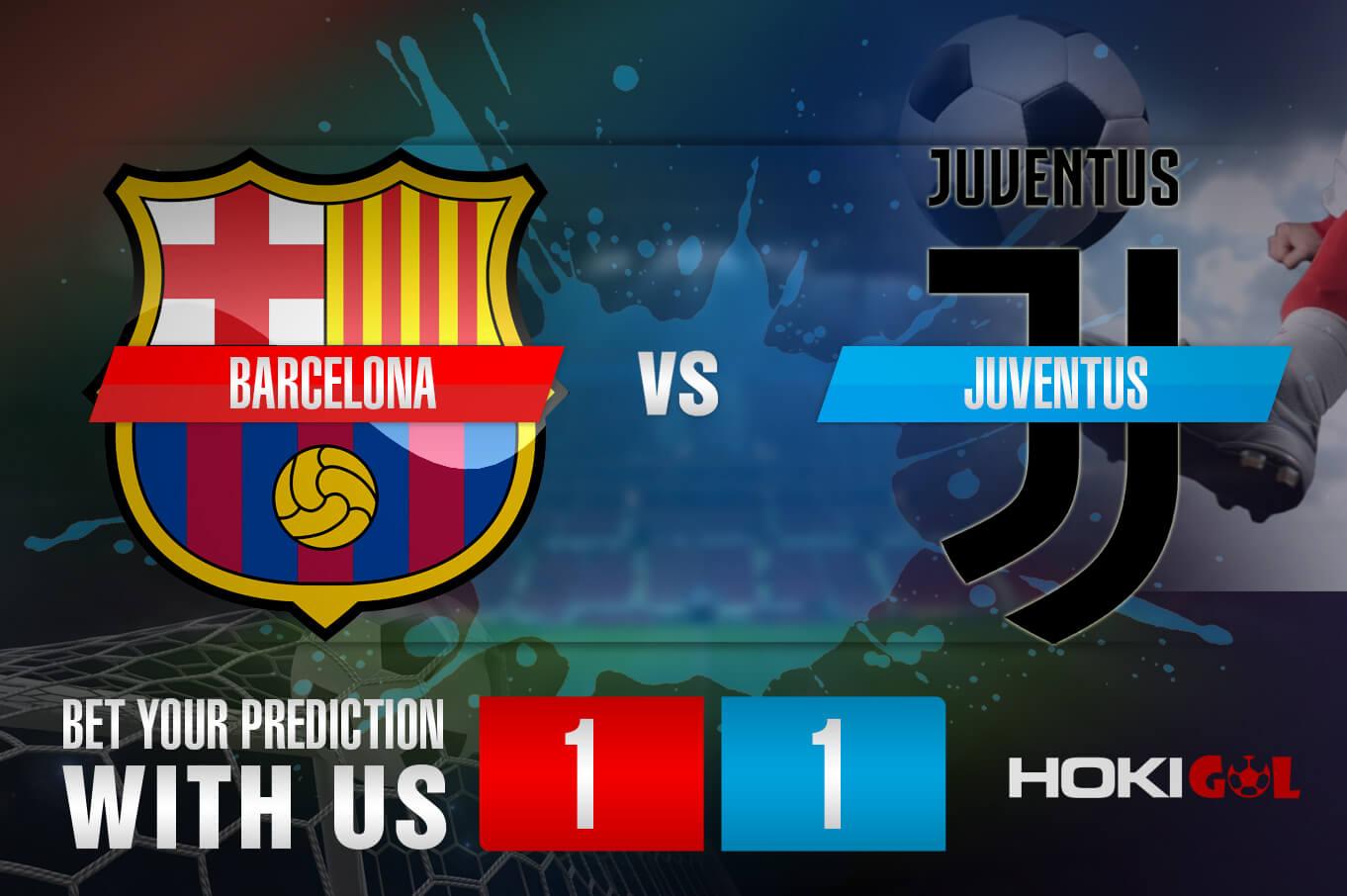 Prediksi Bola Barcelona Vs Juventus 9 Desember 2020