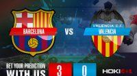 Prediksi Bola Barcelona Vs Valencia 19 Desember 2020