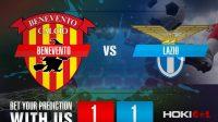 Prediksi Bola Benevento Vs Lazio 16 Desember 2020