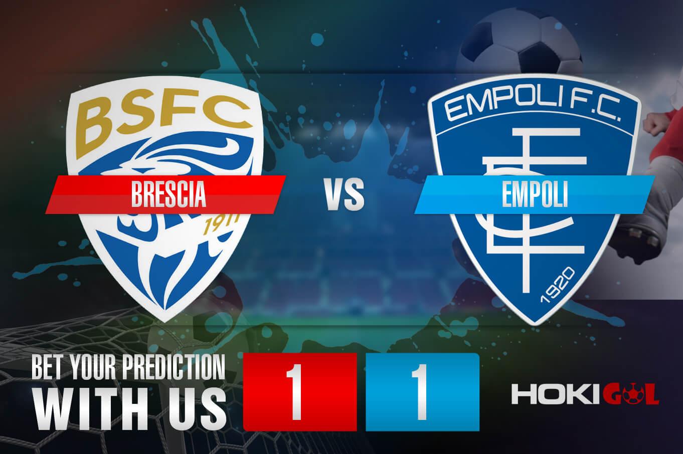 Prediksi Bola Brescia Vs Empoli 28 Desember 2020
