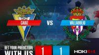 Prediksi Bola Cadiz Vs Valladolid 30 Desember 2020