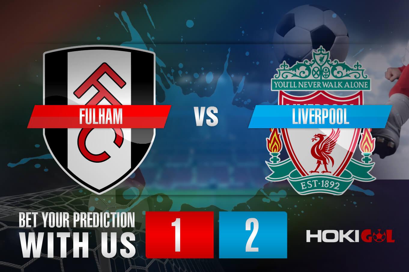 Prediksi Bola Fulham Vs Liverpool 13 Desember 2020