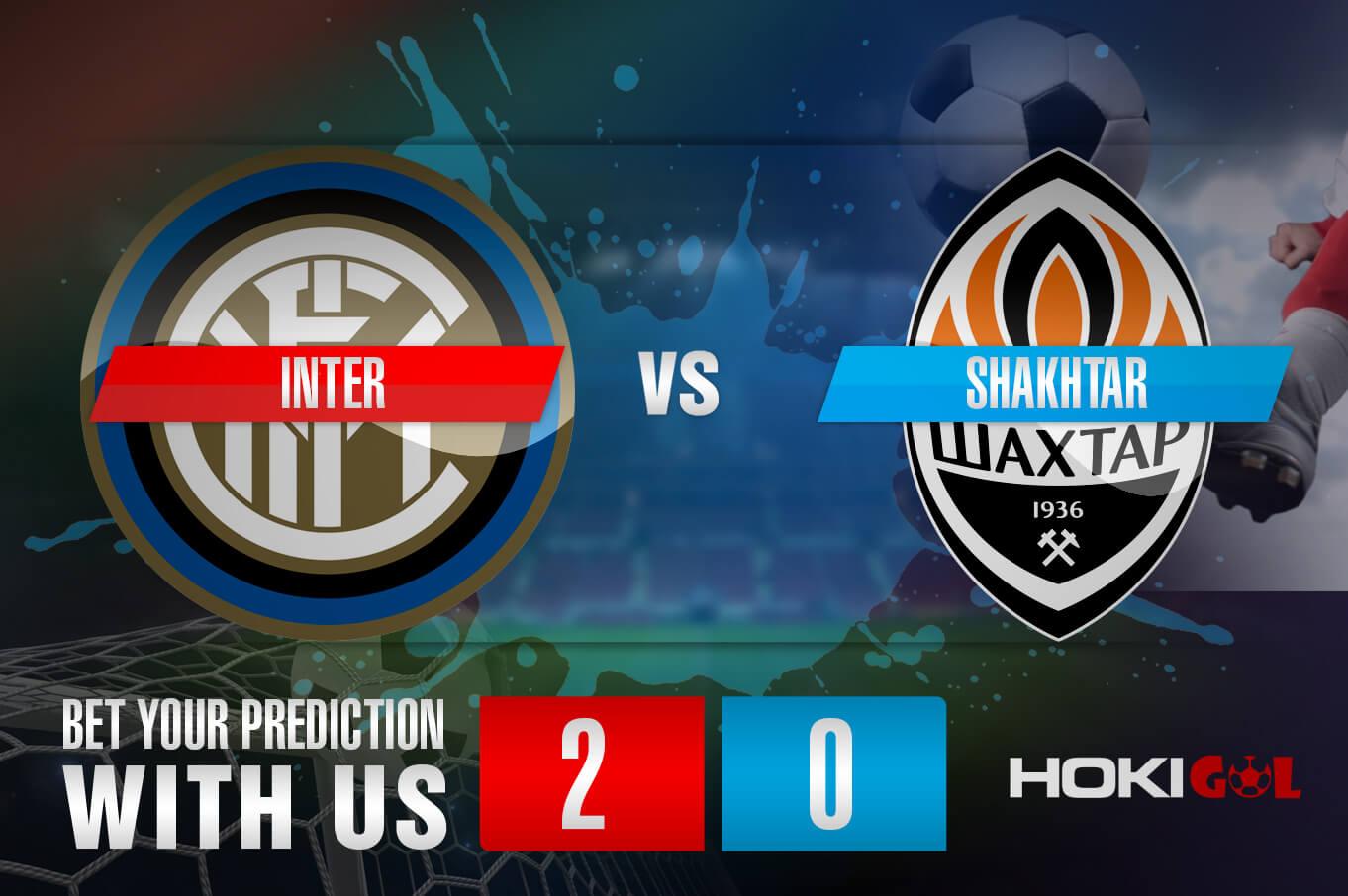 Prediksi Bola Inter Vs Shakhtar 10 Desember 2020