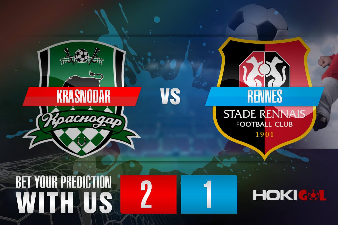 Prediksi Bola Krasnodar Vs Rennes 3 Desember 2020