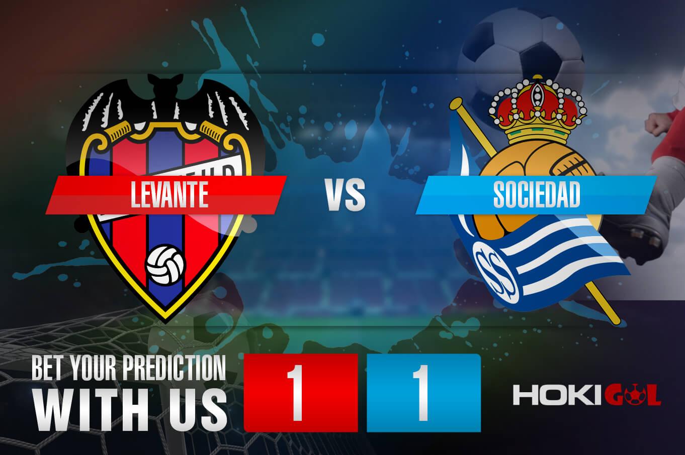 Prediksi Bola Levante Vs Sociedad 20 Desember 2020