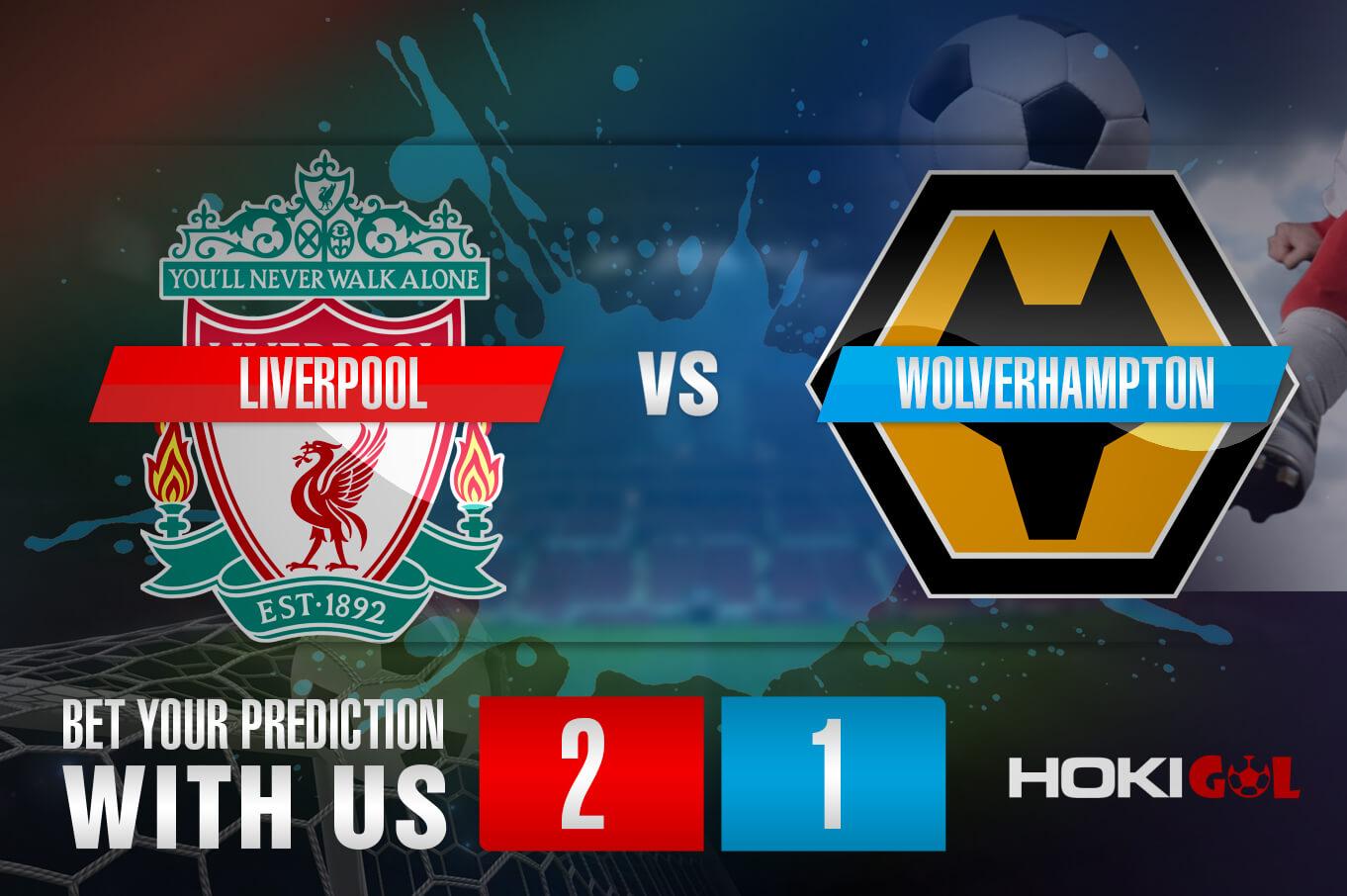 Prediksi Bola Liverpool vs Wolverhampton 7 Desember 2020