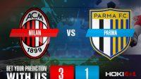 Prediksi Bola Milan Vs Parma 14 Desember 2020