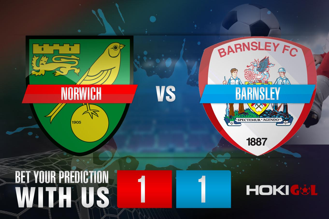 Prediksi Bola Norwich Vs Barnsley 2 Januari 2021