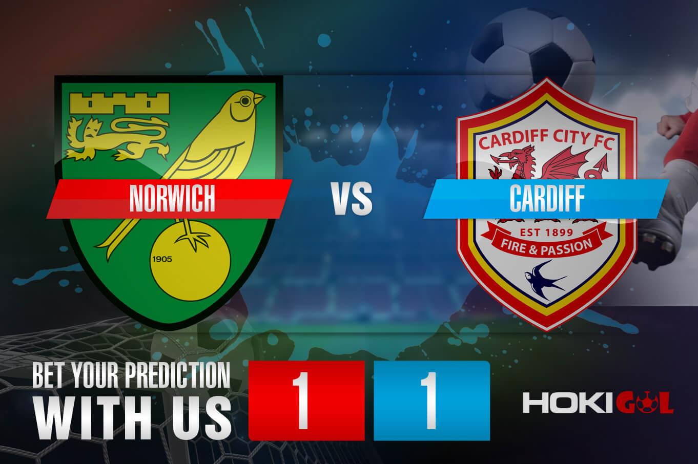 Prediksi Bola Norwich Vs Cardiff 19 Desember 2020