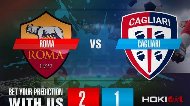 Prediksi Bola Roma Vs Cagliari 24 Desember 2020