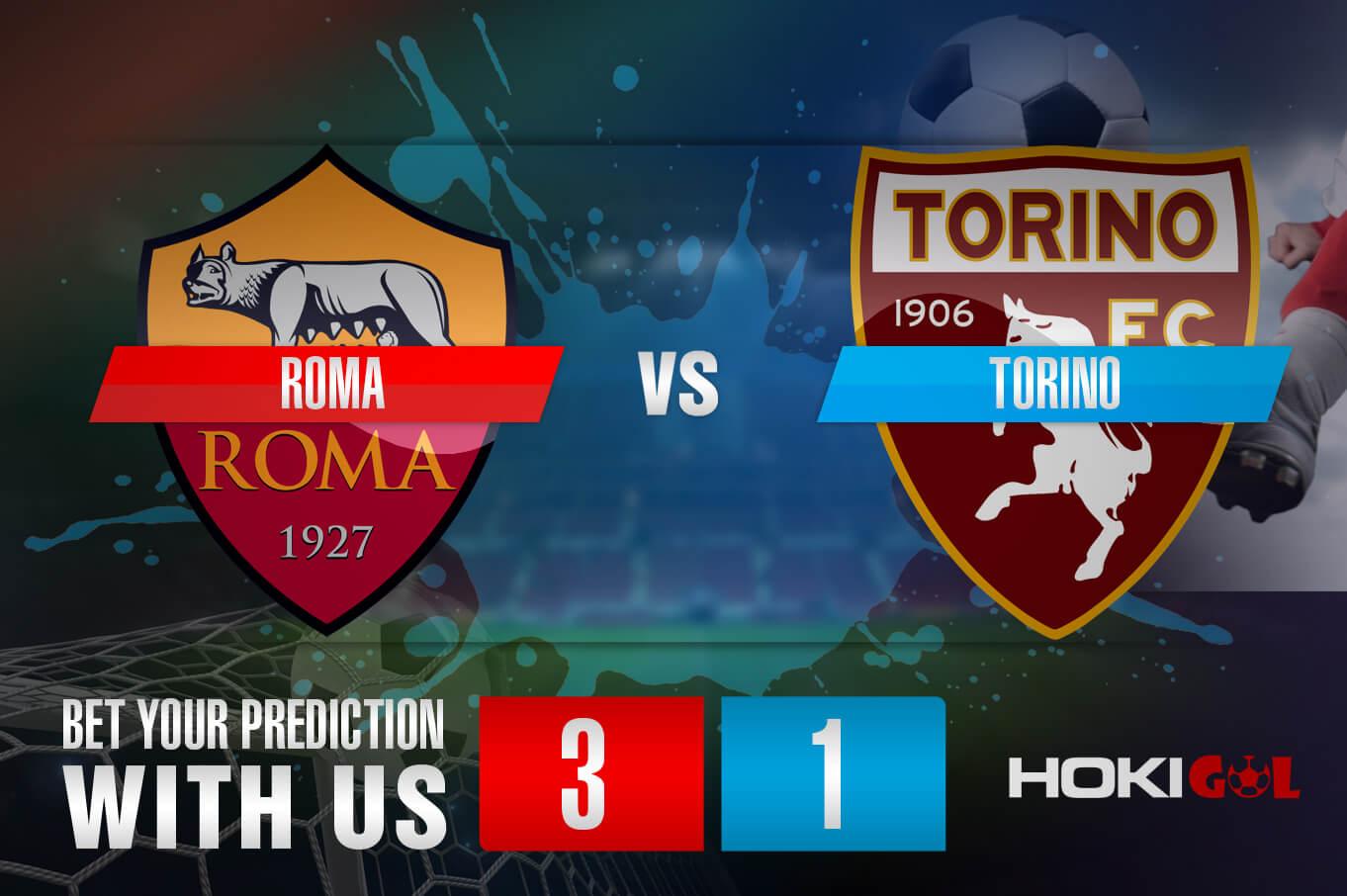 Prediksi Bola Roma Vs Torino 18 Desember 2020
